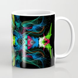 Neon Owl Avatar Coffee Mug