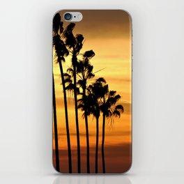 CALIFORNIA SUNSET iPhone Skin
