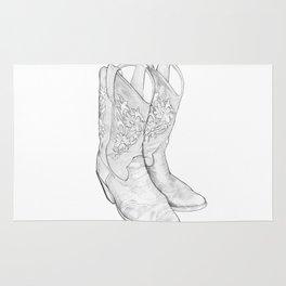 Cowboy Boots Rug