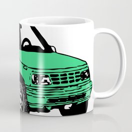 Retro 80s Truck / SUV Coffee Mug