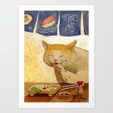 Sushi Cat-