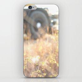 Fields at dawn iPhone Skin