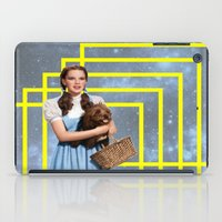 thrones iPad Cases featuring Yellow brick road by Laura Nadeszhda