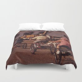 Tricycle Club Duvet Cover