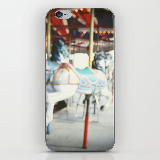 Round and Round in My Head iPhone & iPod Skin