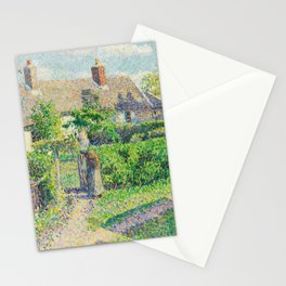 Peasants' Houses,  Éragny Stationery Cards