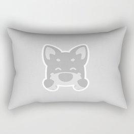 Burrito Pup! Rectangular Pillow