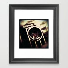 Brownie Framed Art Print