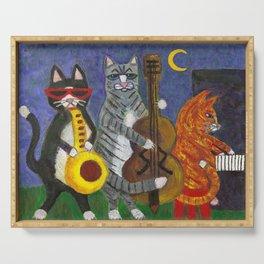 Jazz Cats Serving Tray