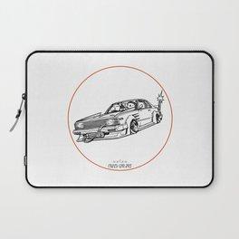 Crazy Car Art 0099 Laptop Sleeve