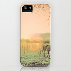 country life  iPhone (5, 5s) Slim Case