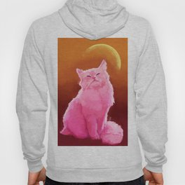 Pink Cat Hoody