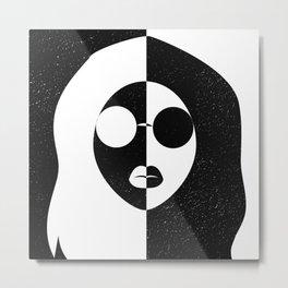 galaxy girl Metal Print