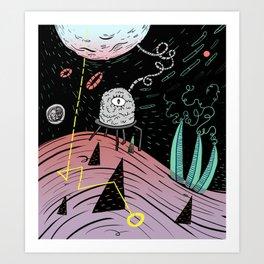 Superboles h4 Art Print