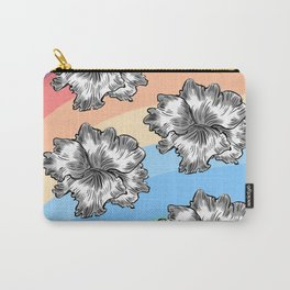 coloured blooms. Carry-All Pouch