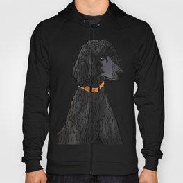 Misza the Black Standard Poodle Hoody