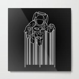 Astrocode Metal Print