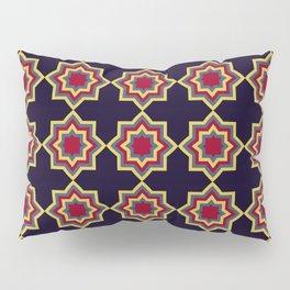 Moroccan Flare Geometric Seamless Pattern Pillow Sham