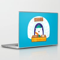 polar bear Laptop & iPad Skins featuring Polar Bear by Claire Lordon