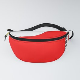 Red Grand Piano Fanny Pack