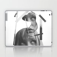 She left pieces of her life Laptop & iPad Skin