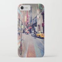 broadway iPhone & iPod Cases featuring On Broadway by Wired Circuit