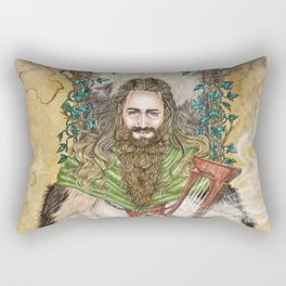 Bragi the bard of the Gods Rectangular Pillow
