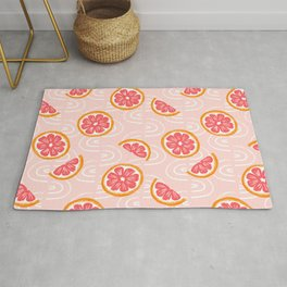Grapefruit Pattern Rug