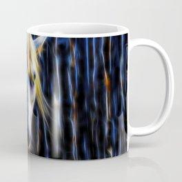 White Horse Fractal Coffee Mug