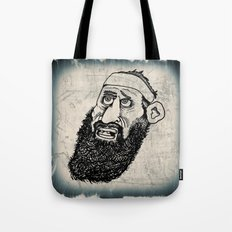 Bearded Gent from the Motorcycle Club Tote Bag