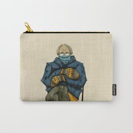 Watercolor Bernie Mittens Carry-All Pouch