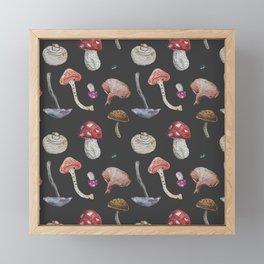 Mushroom Mushroom Framed Mini Art Print