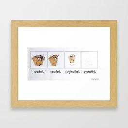 Social-Unsocial Framed Art Print