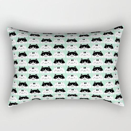 Kawaii Kitties Rectangular Pillow