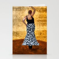 spanish Stationery Cards featuring Spanish Dancer by Anthony M. Davis