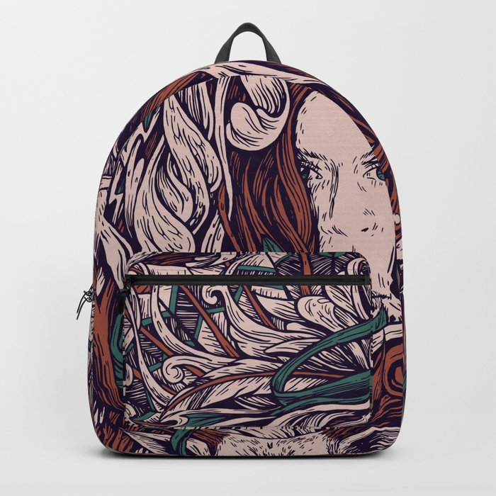 Girl and friends Backpack