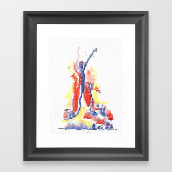 democracy Framed Art Print