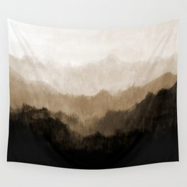 Old Mountain Wall Tapestry