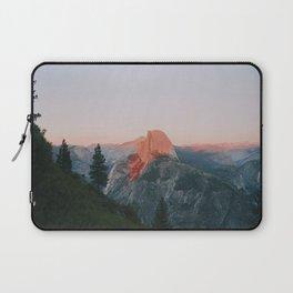 Half Dome Alpenglow Laptop Sleeve