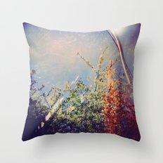 Holga Flowers IV Throw Pillow