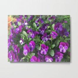 Botanical Florals Zencolor2 Metal Print