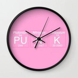Periodic Punk Wall Clock