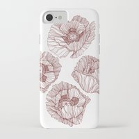 poppies iPhone & iPod Cases featuring Poppies by Annike