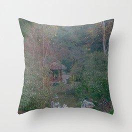 Quiet Garden Throw Pillow