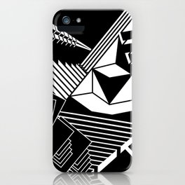 playing with angles iPhone Case