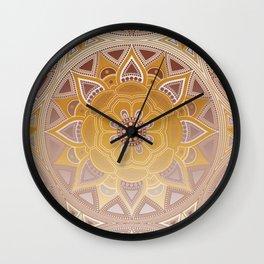 Mandala my new creation XIII Wall Clock