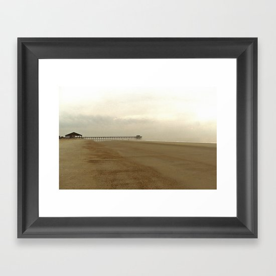 Early Morning on Tybee Framed Art Print