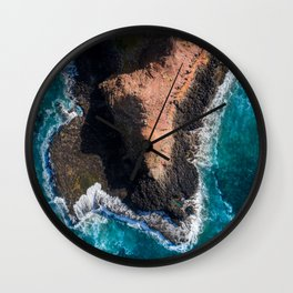 Moody Point Wall Clock