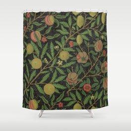 "William Morris ""Fruit or Pomegranate"" 8. Shower Curtain"