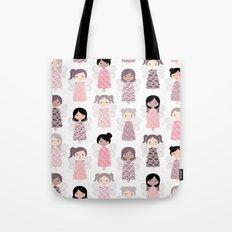 Yarn angels Tote Bag